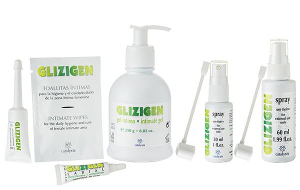 Linea de productos Glizigen: Problemas Intimos