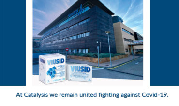 At Catalysis we remain united fighting against Covid-19.